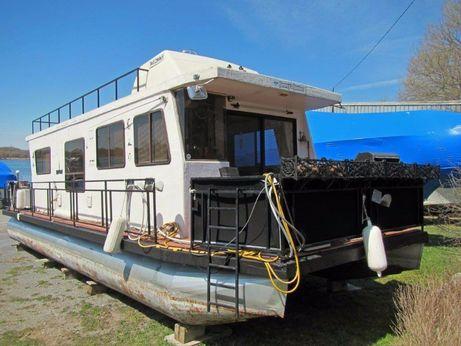 1986 Custom Houseboat