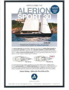 2016 Alerion Sport 30