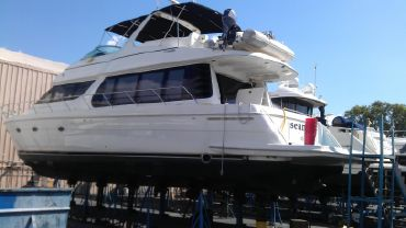 2002 Carver 570 Voyager Pilothouse
