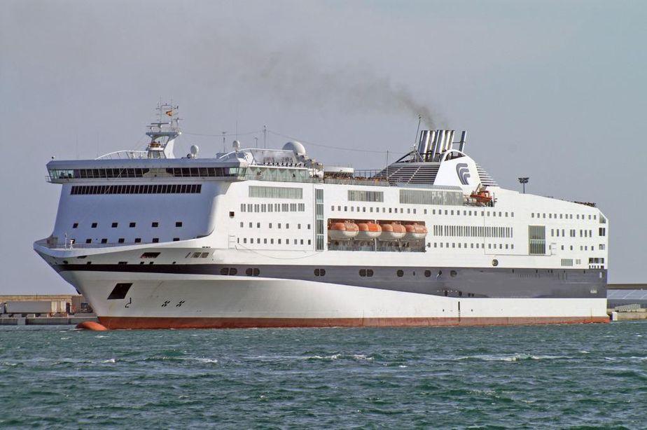 2003 Passenger Car Ferry 2920 Passengers Stock No S2469 Power