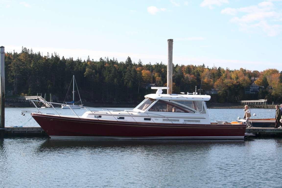 Little Harbor WhisperJet 44 EX, Blue Hill, ME