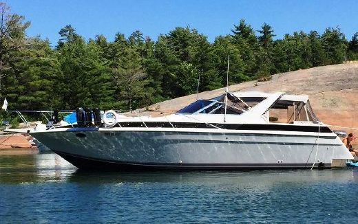 1987 Chris Craft 412 Amerosport