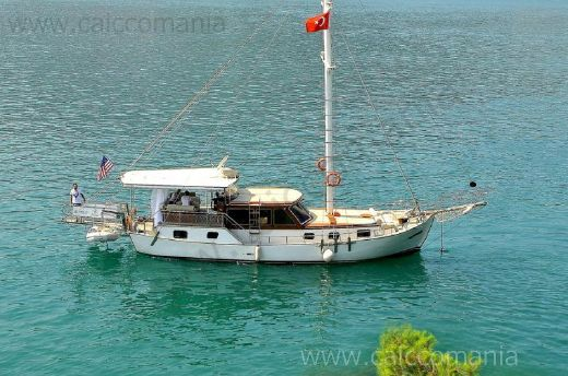 2006 14m Gulet Caicco Traditional Turkish Motorsailer