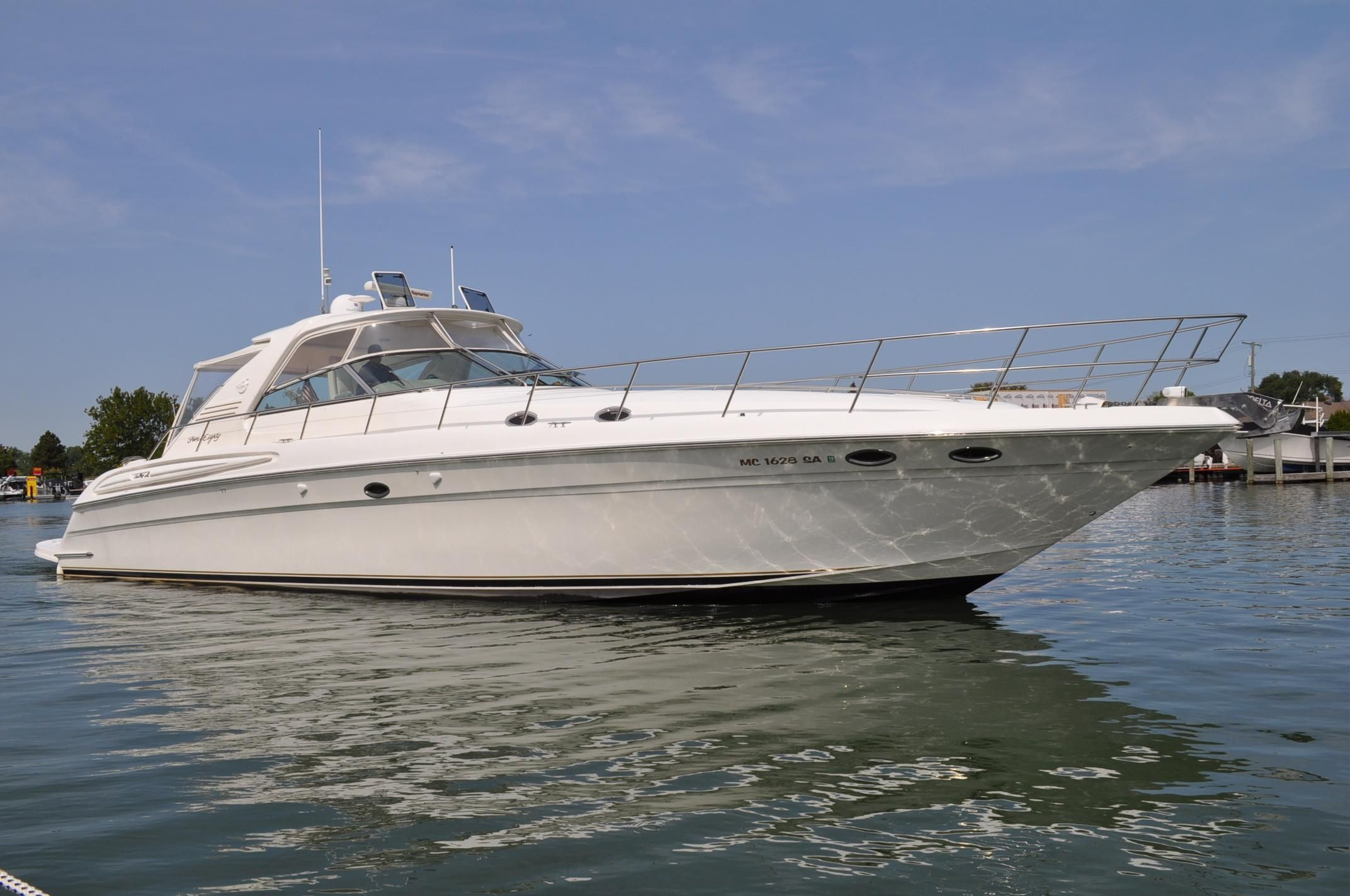 2000 sea ray 580 super sun sport power boat for sale for Sport fishing boats for sale by owner