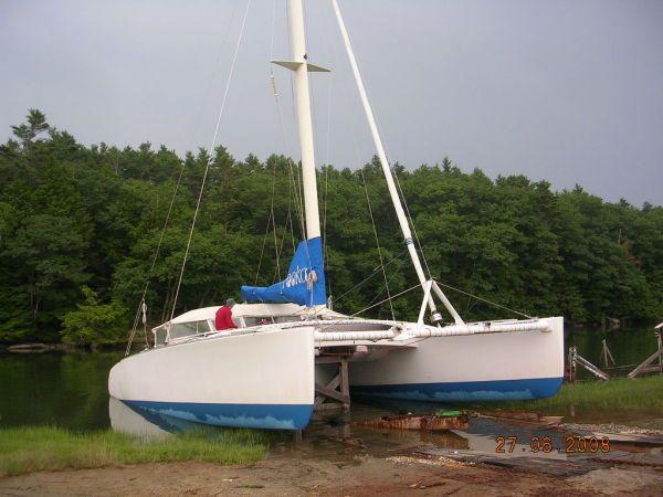 1996 Newick Catamaran Sail Boat For Sale - www.yachtworld.com