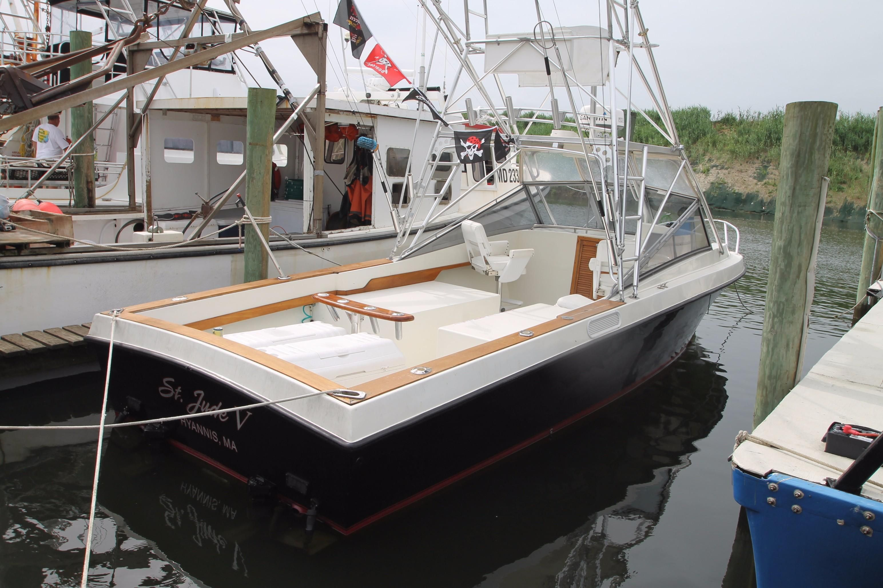 1979 blackfin 32 combi power boat for sale www for Point pleasant fishing boats
