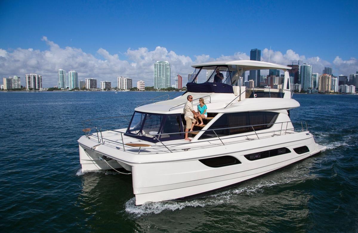 2015 Aquila 48 Power Catamaran Power Boat For Sale - www ...  2015 Aquila 48 ...