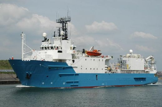1995 Custom Seismic Research Vessel
