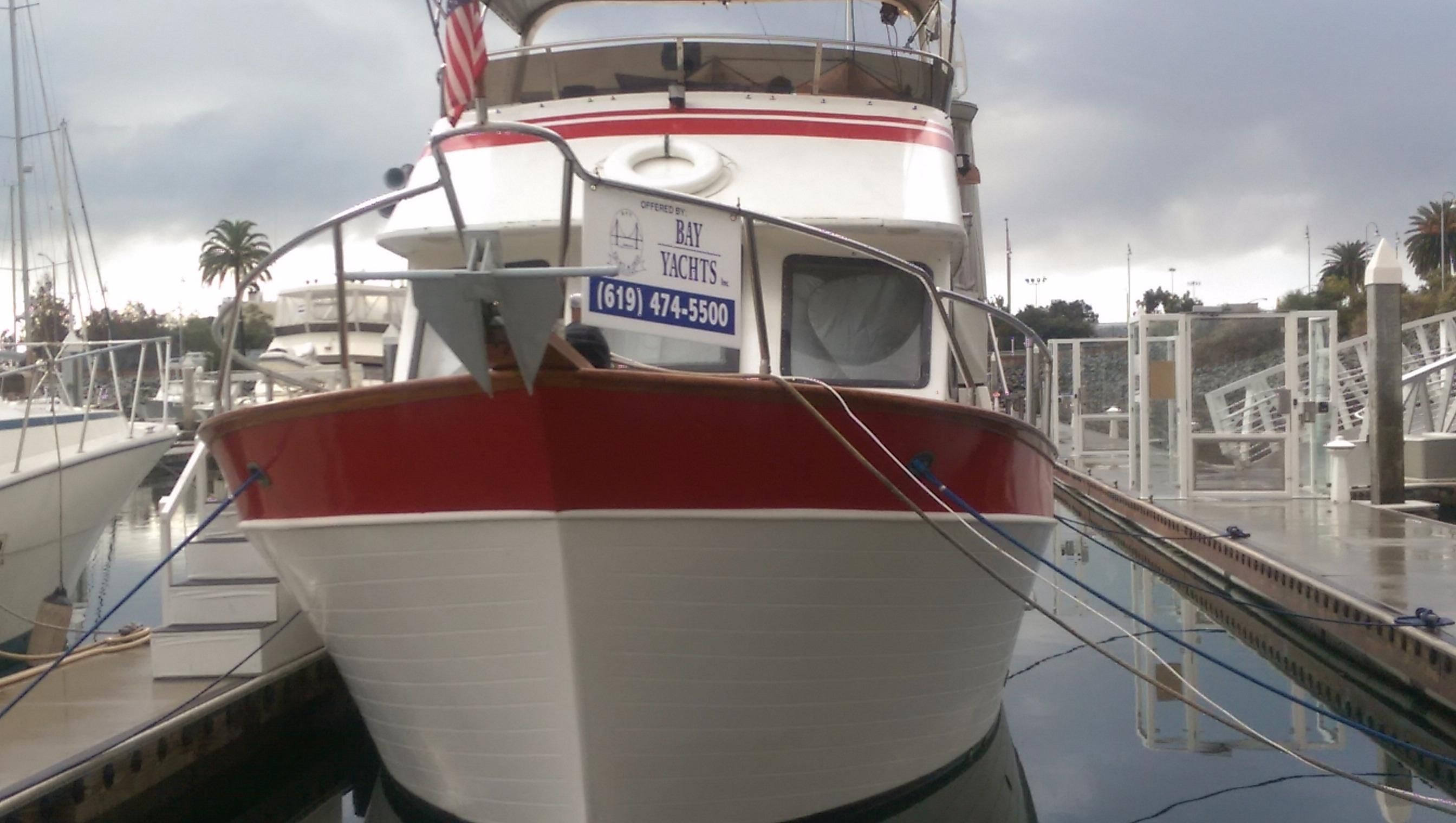1985 Marine Trader Motor Yacht Power Boat For Sale Www