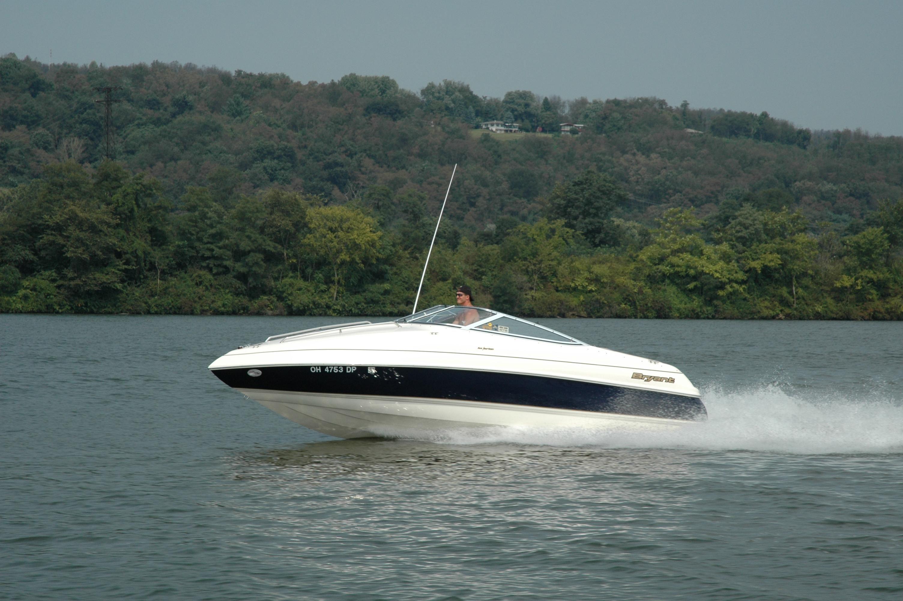 2003 Bryant 214 Cuddy Power Boat For Sale www.yachtworld.com #5C6040
