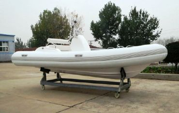 2016 Blue Star Inflatables 470c Inflatable RIB w/ trailer