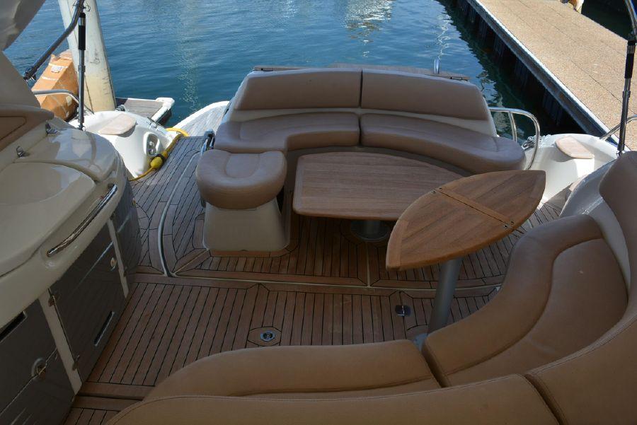 Cranchi Mediterranee 43 Open Yacht Cockpit Layout