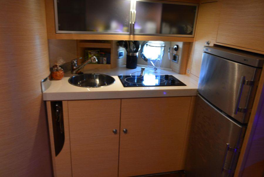Cranchi Mediterranee 43 Open Yacht Kitchen Galley