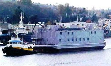 1945 Us Navy BARGE