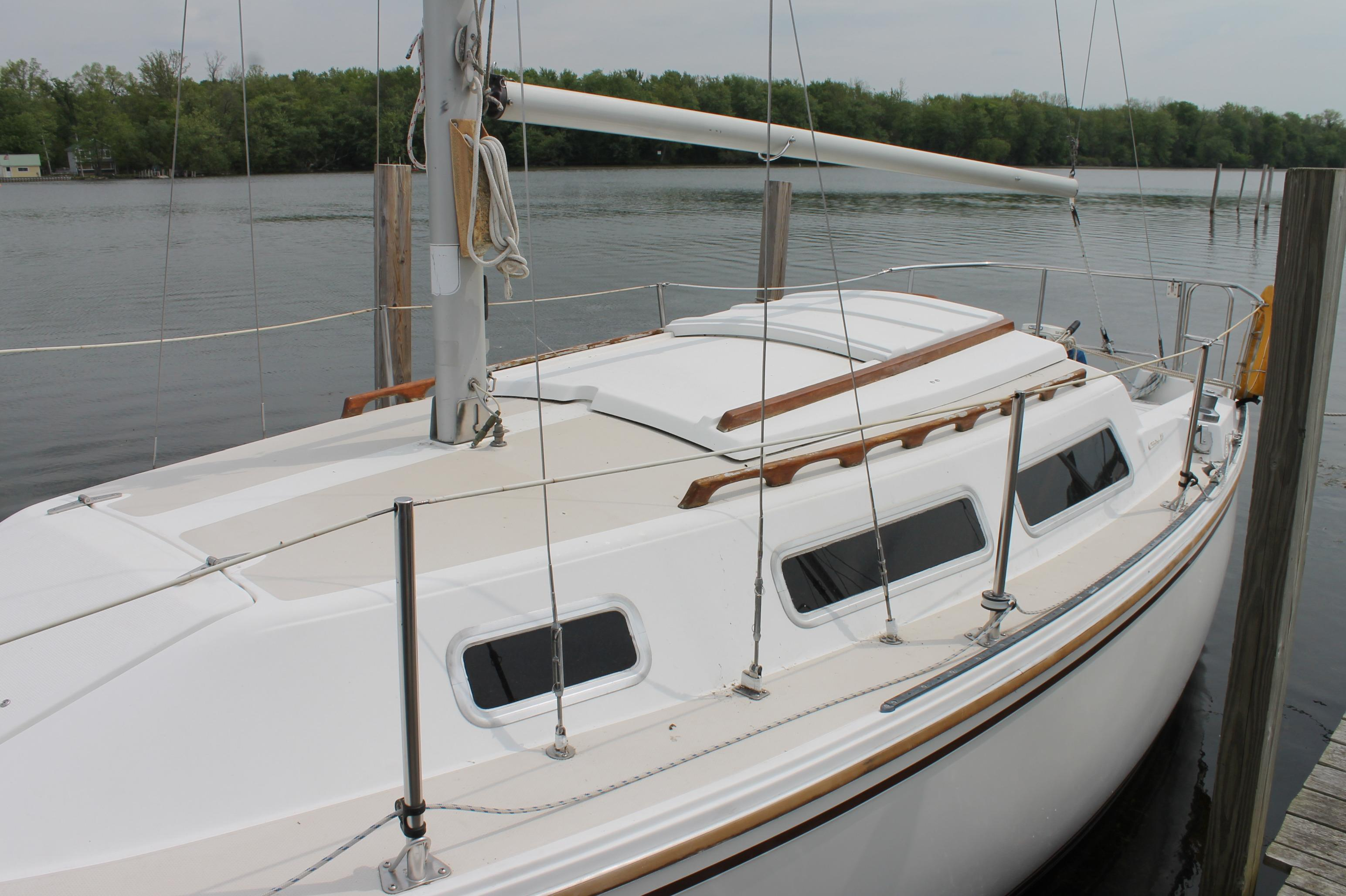1984 Catalina 25 ft sailboat for sale in Idaho