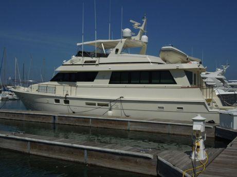 1990 Hatteras 70 Cockpit Motor Yacht