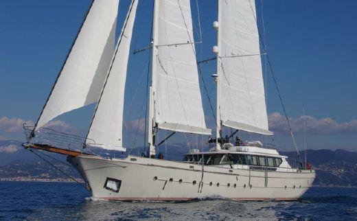 2013 Castagnola schooner motorsailer