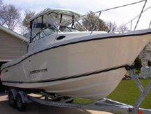 2002 Seaswirl Striper 2601 Walkaround I/O