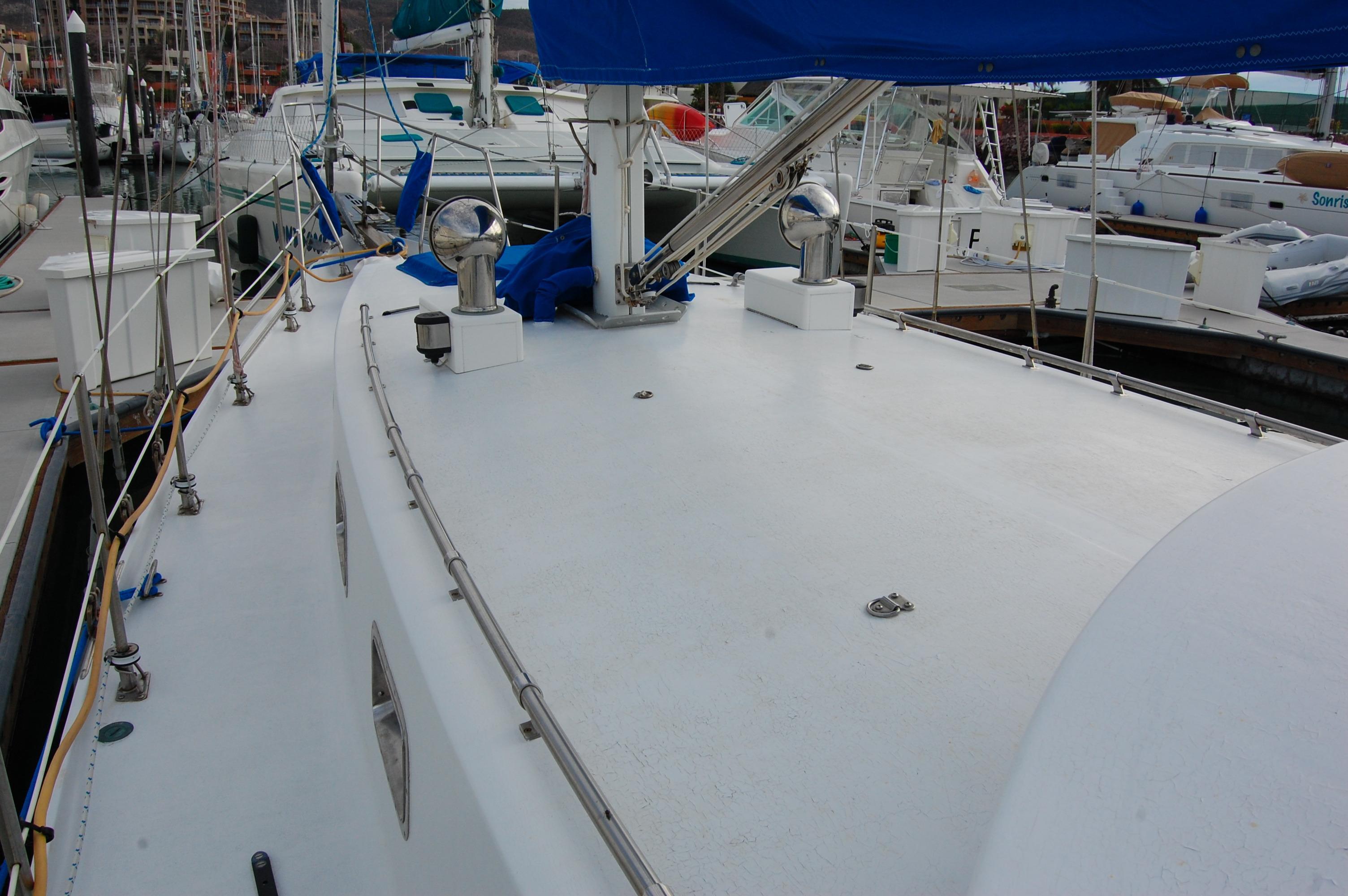 44' Custom C-Smoke Ferrocement Ketch+Main sail