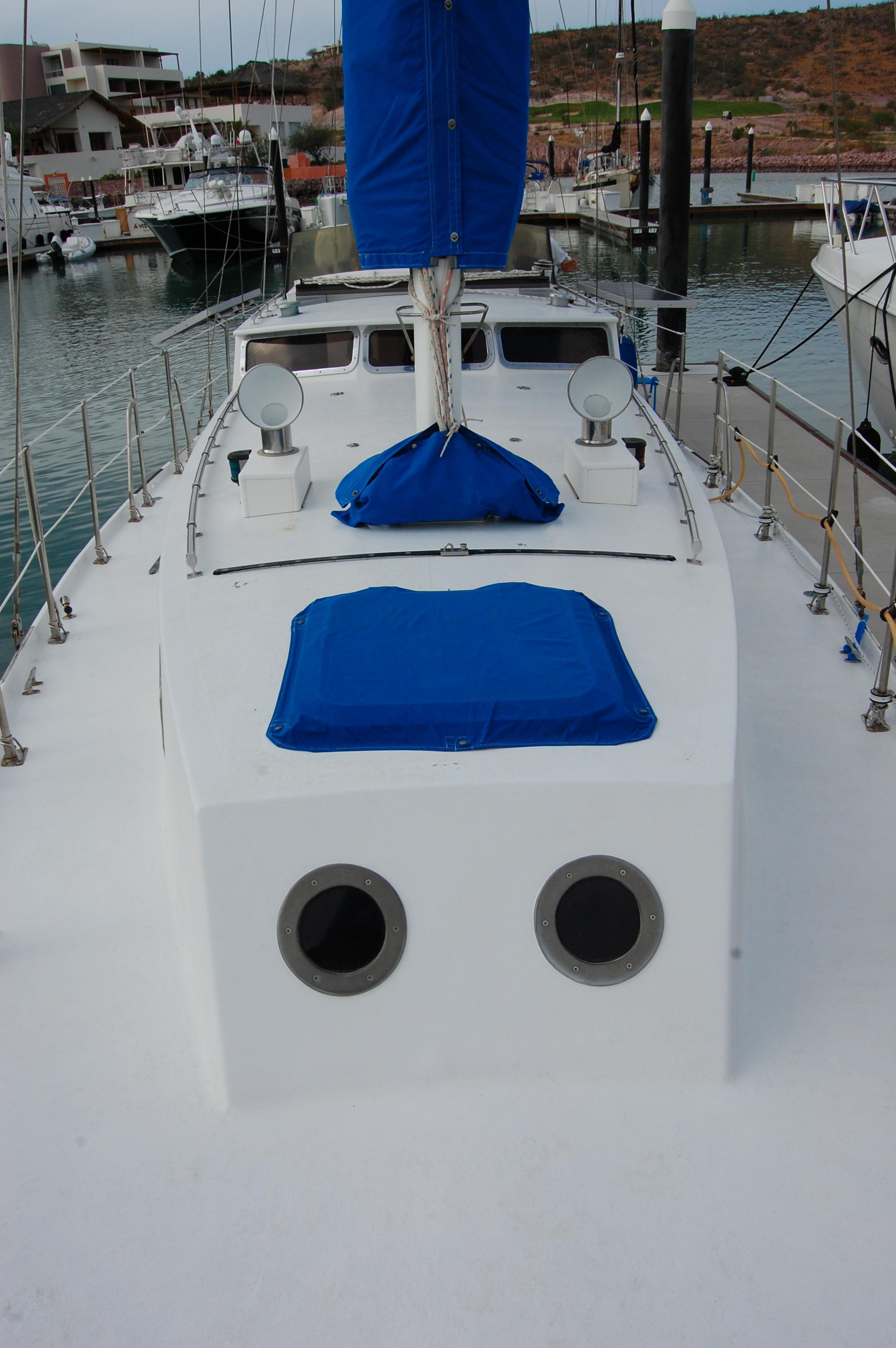 44' Custom C-Smoke Ferrocement Ketch+Mast detail