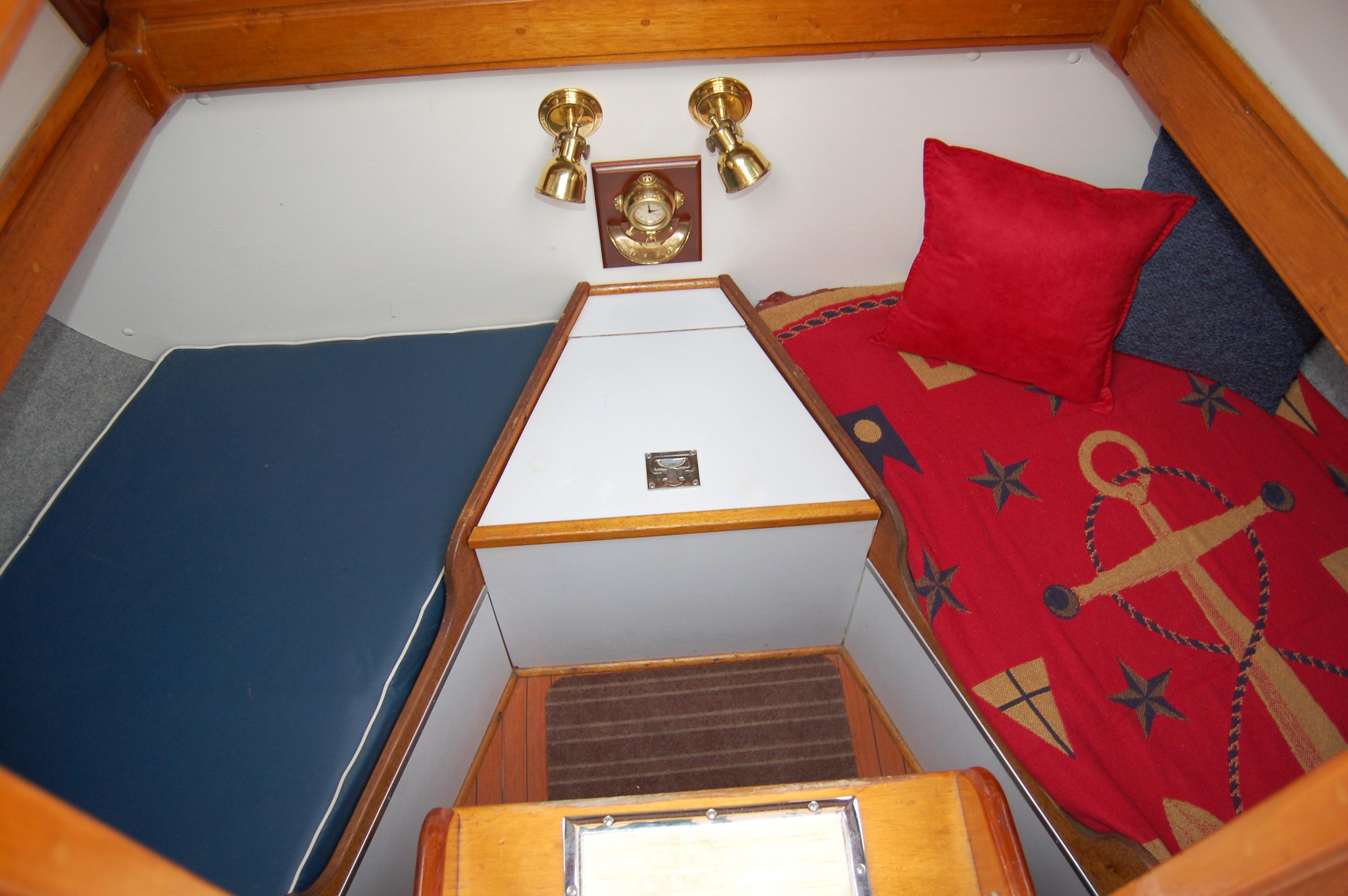44' Custom C-Smoke Ferrocement Ketch+Stbd bunk bed