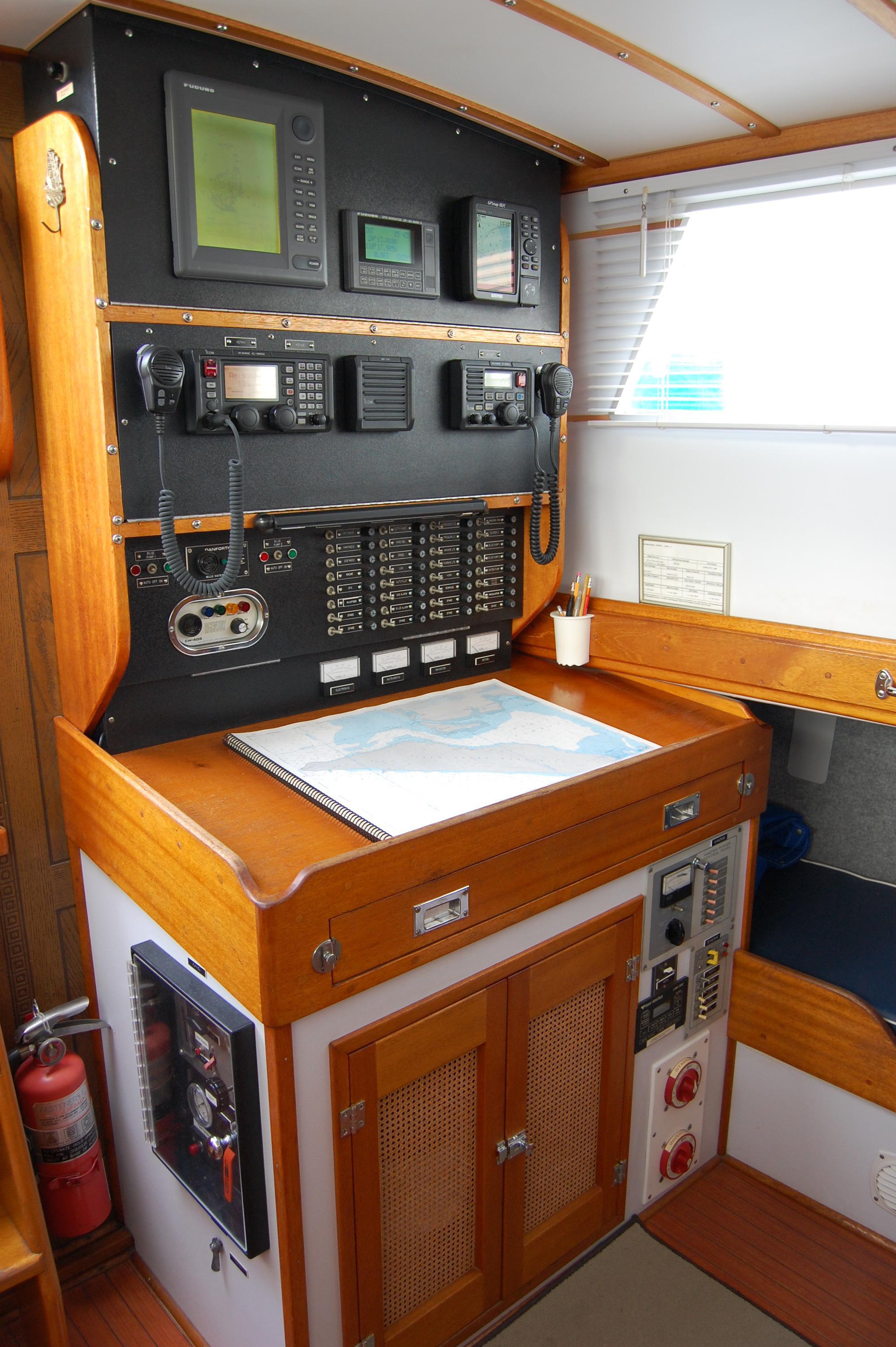 44' Custom C-Smoke Ferrocement Ketch+Electrical panel