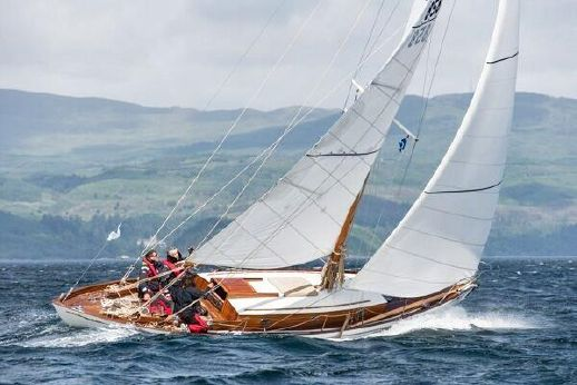 1957 William Fife Double ended Sloop
