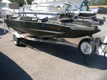 1999 Tracker Boats FISHING GRIZZLY 1648SC