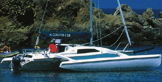 1999 Corsair 28 Center Cockpit