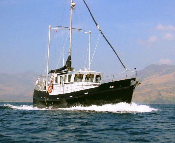How does a trawler take rough water trawler forum for Garden design trawler boat
