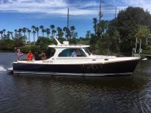 2014 Hinckley 37 Picnic Boat MKIII
