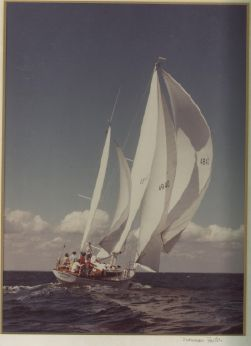 1971 Ted Hood 45 Yawl