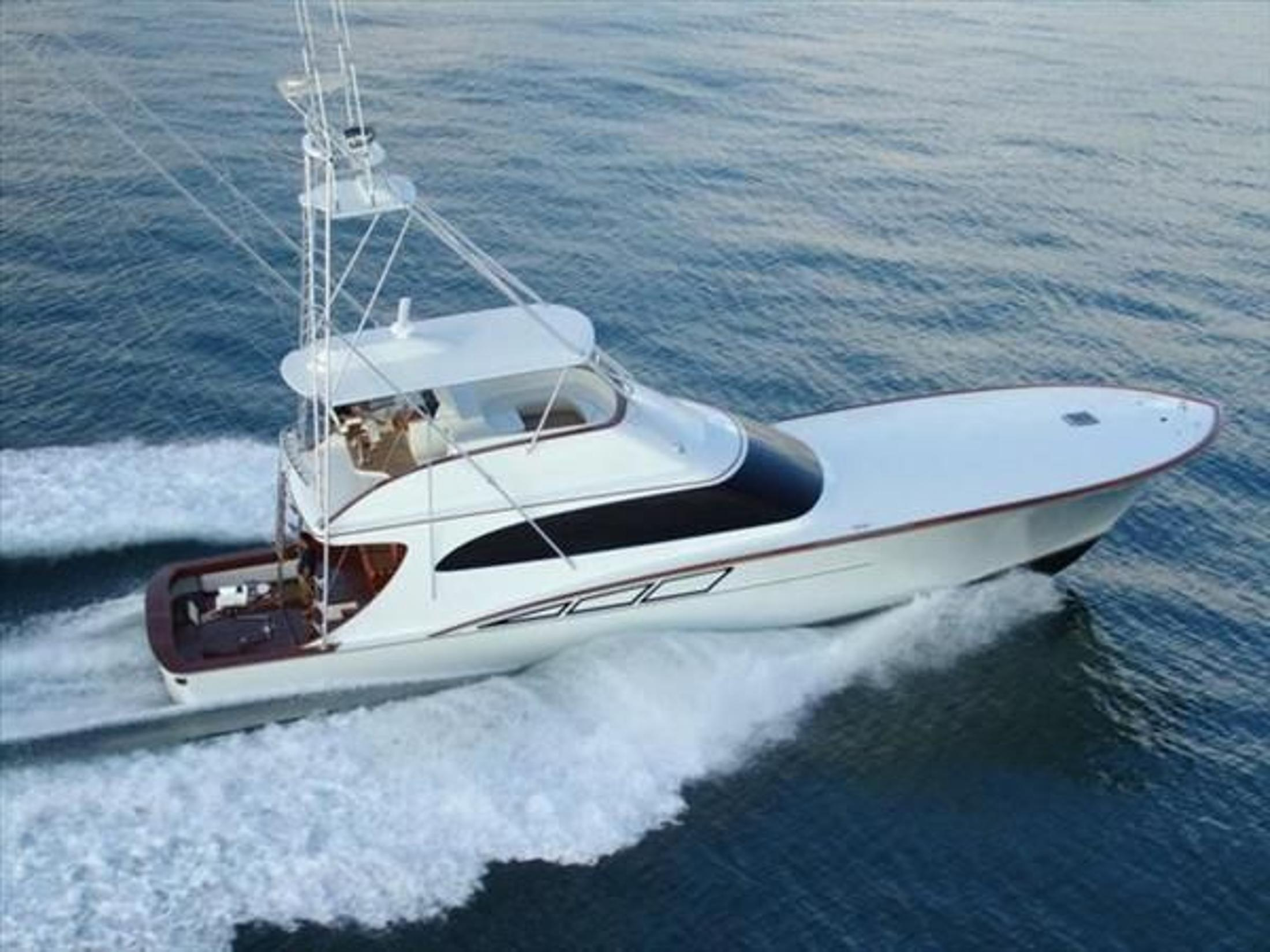 pre owned sportfish yacht