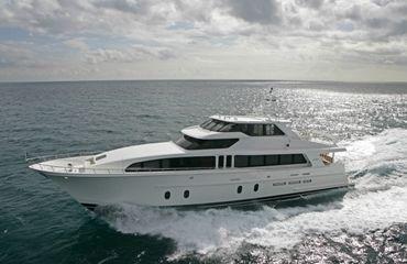 2018 Cheoy Lee Bravo Series Sport Motor Yacht