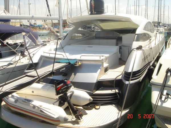 Pershing 50 Type Motor. Equipped w/ Arneson Surface Drives it is a Perfect ...