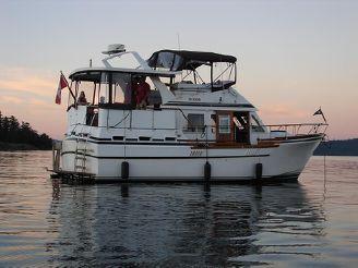 1982 C & L Sea Ranger Trawler Aft Cabin