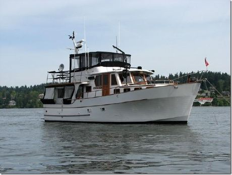1982 C & L 44 Pilot House Trawler
