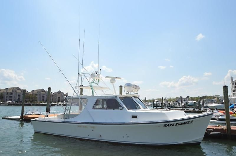 2006 evans boats custom deadrise express fisherman power for Express fishing boats for sale