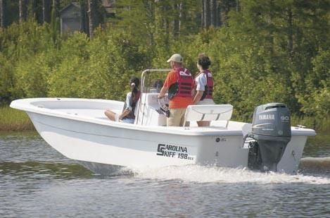 2009 Carolina Skiff 198 Elite Series