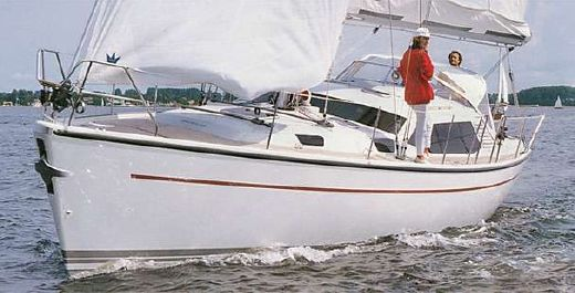 2000 Dehler 41 Deck Salon