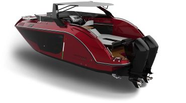 2020 Stilecatalini Venticinque Coupe Outboard Engines