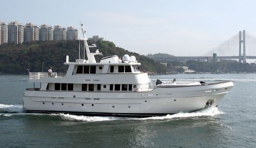 2018 Cheoy Lee Expedition Series Motor Yacht