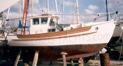1975 Fairways Marine Fisher 25