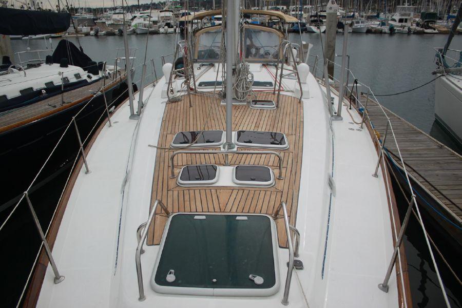 Beneteau 50 Sailboat Deck