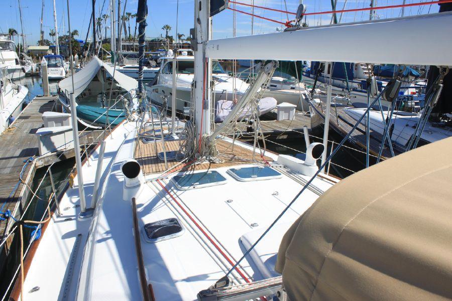 Beneteau 50 Sailboat Bow Deck