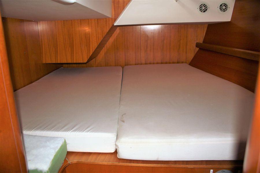 Beneteau 50 Sailboat Guest Cabin