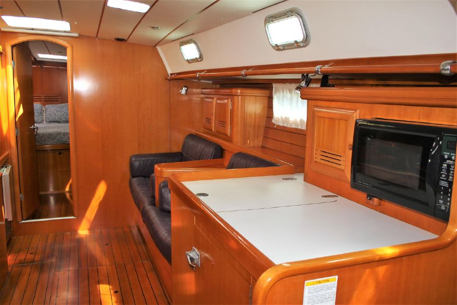 Beneteau 50 Sailboat Interior Salon