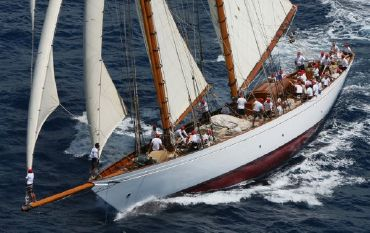 1931 William Fife Iii Gaff Rigged 108 ft Topsail Schooner 1931