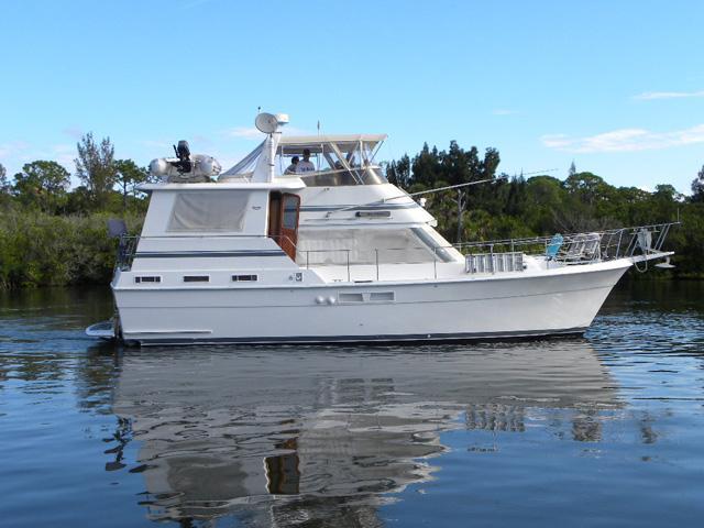 44 ft 1987 gulfstar motor yacht