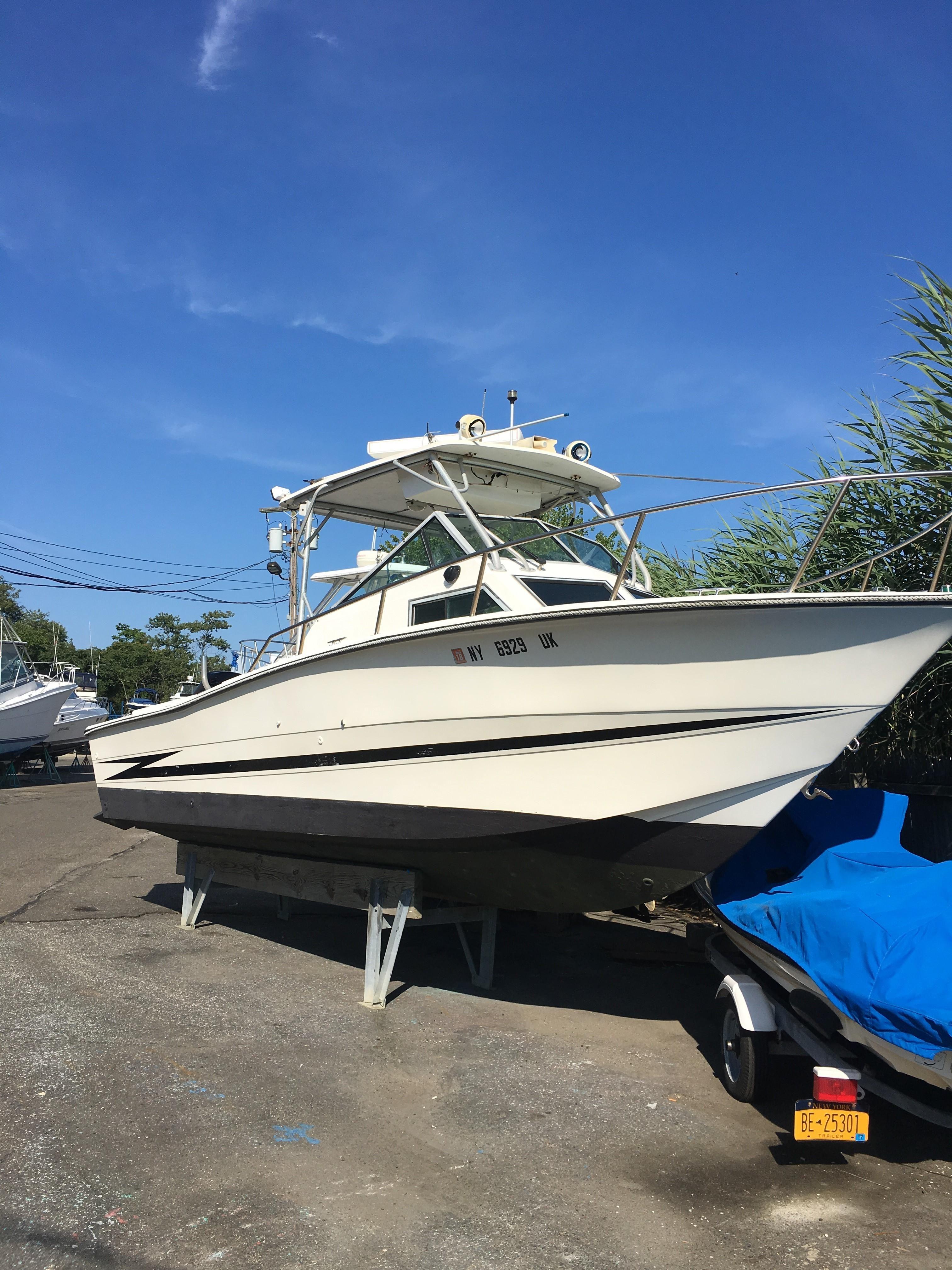 Hydra Sports Boats >> 1987 Hydra-Sports 25 WALK AROUND Power Boat For Sale - www ...